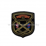 Шеврон 51 Оршанская бригада вышитый