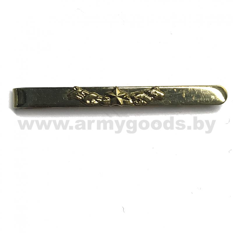 Зажим (заколка) ОВ общевойсковой для галстука с логотипом