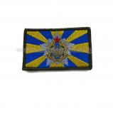Шеврон Флаг ВВС и ПВО РБ вышитый олива на липе