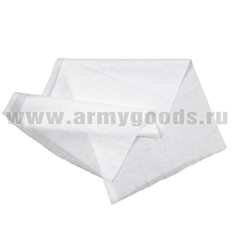 Ткань белая подшивочная