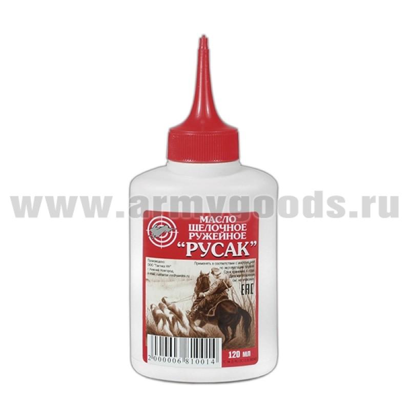 Масло щелочное ружейное РУСАК (120 мл)