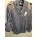 Джемпер (свитер) форменный серый
