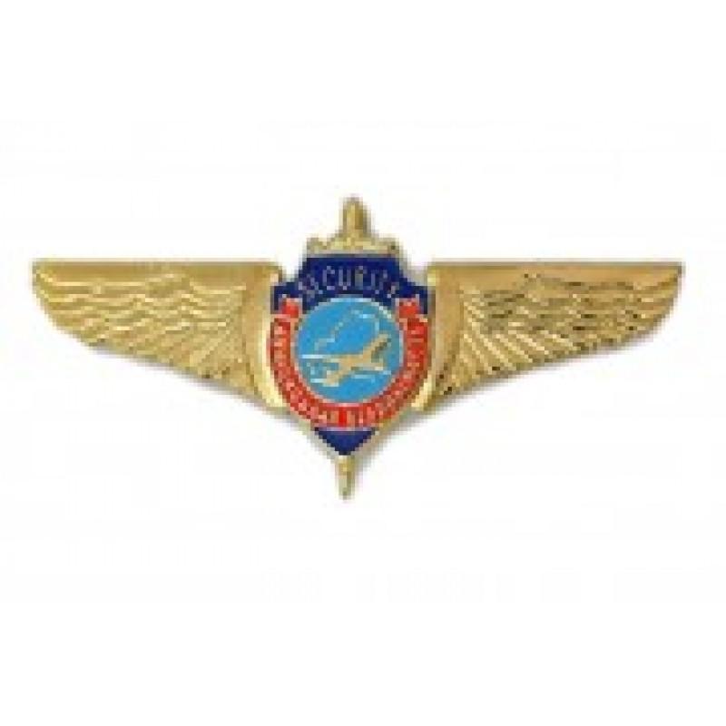 Значок мет.эмбл Государственного комитета по авиации Республики Беларусь