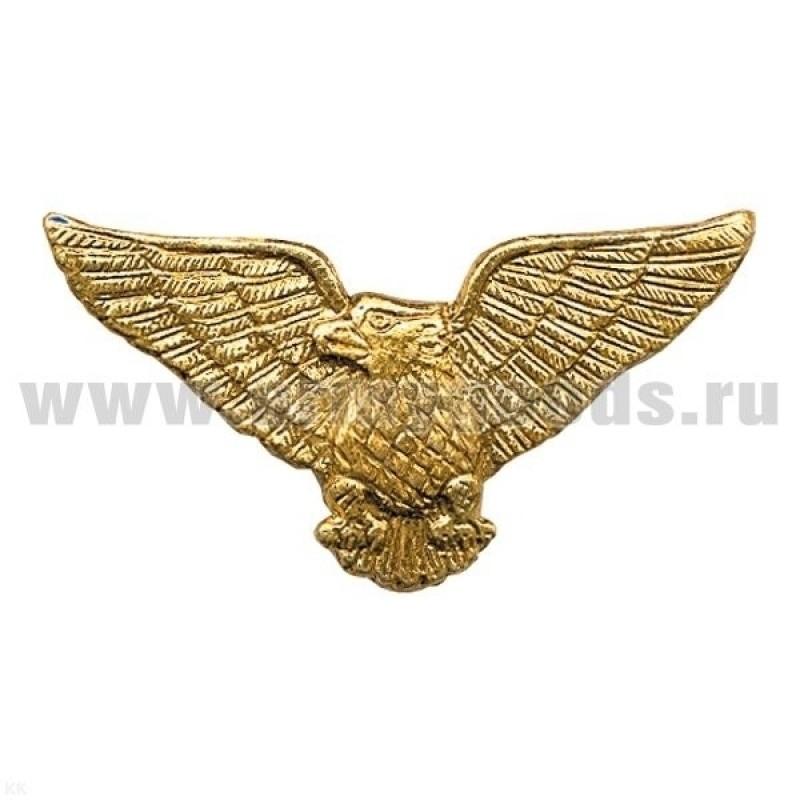 Значок мет. Орел ВДВ (крылья в стороны)