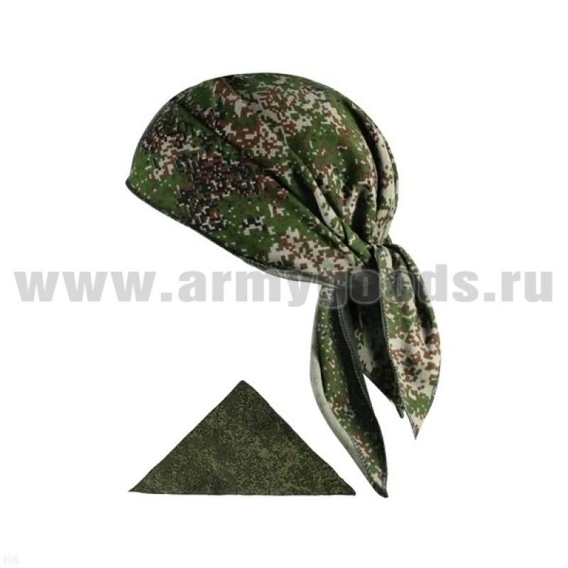 """Бандана кулирка (треугольная) """"русская цифра"""""""