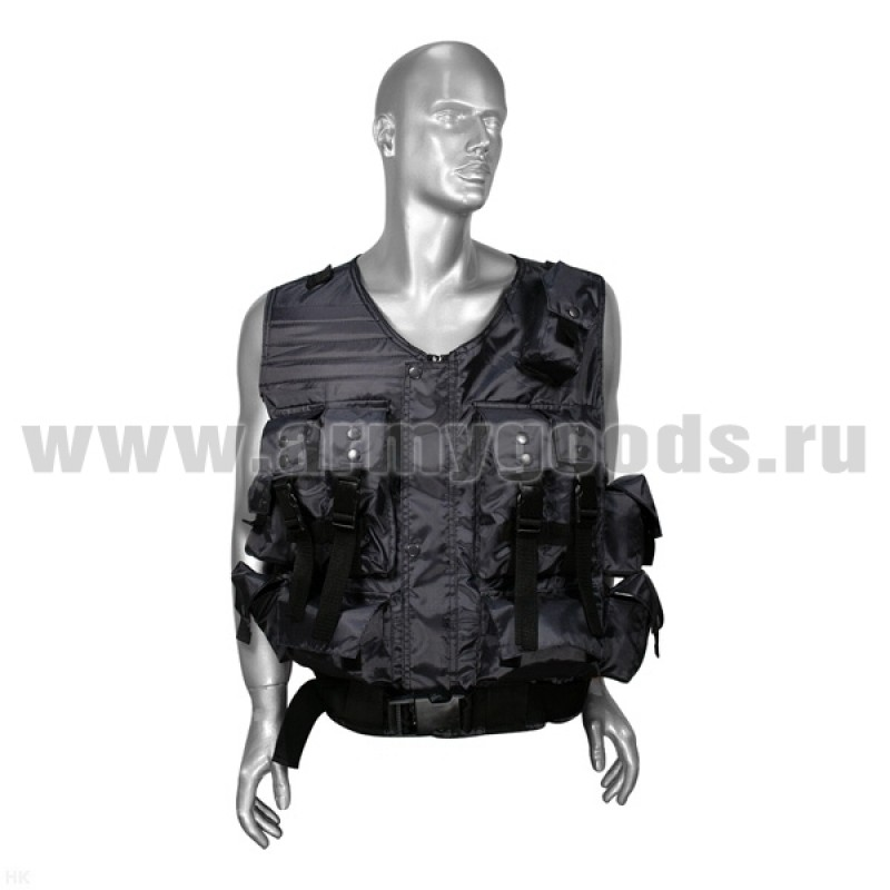 "Жилет разгрузочный ОМОН серый (ткань ""оксфорд"")"