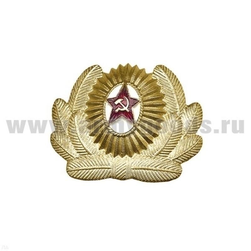 Кокарда СА офицерский состав большая