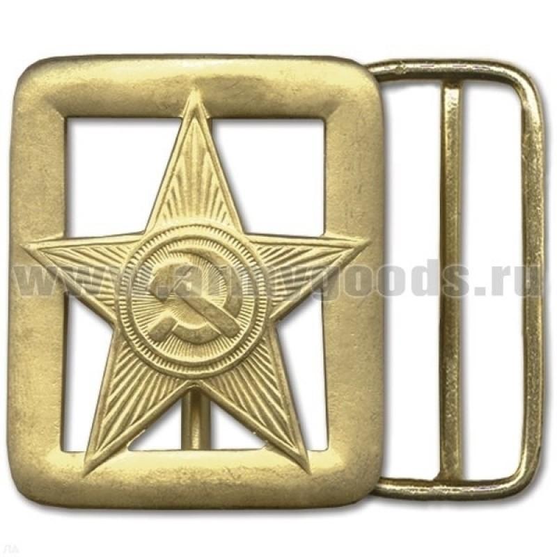 Бляха на солдатский ремень дембельская Звезда СА