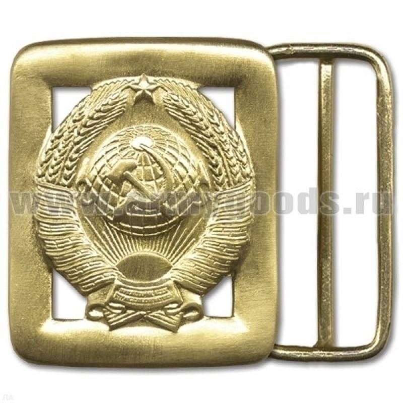 Бляха на солдатский ремень дембельская Герб СССР