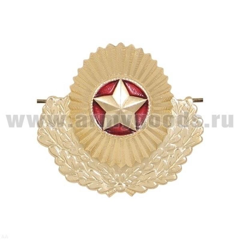 Кокарда (орех ) ВС РБ офицерская